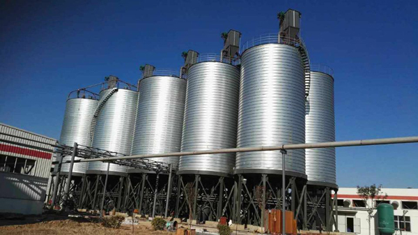 chemical silo, 5000 ton cement storage silo, best steel silo