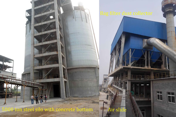 5000 Ton Bulk Fly Ash Storage Silo Project