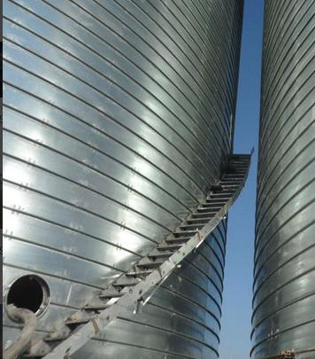 Spiral Ladder For Steel Silo