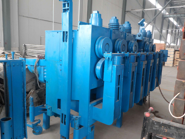 biting machine for spiral silo